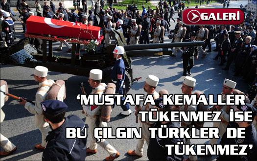 Son Mustafa uğurlandı