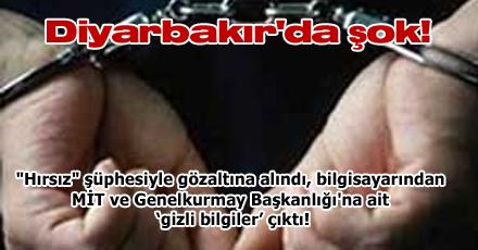 Diyarbakır'da şok!