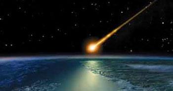 Kanada'ya meteor düştü