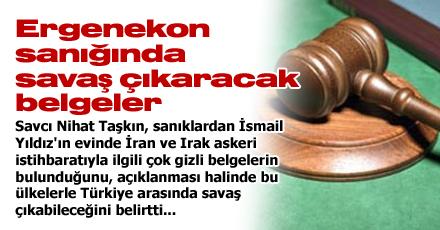 Ergenekon sanığında savaş çıkaracak belgeler