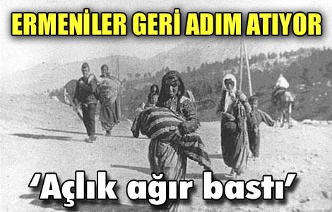 ERMENİLER GERİ ADIM ATIYOR