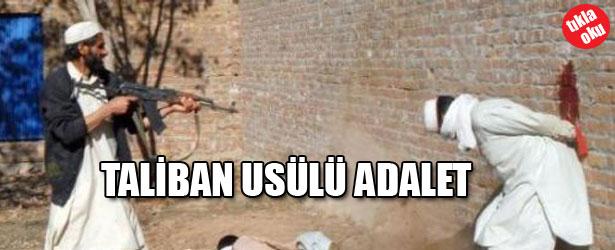 TALİBAN USULÜ ADALET