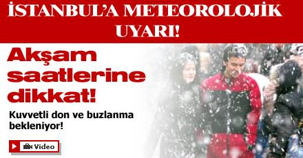 İstanbullular akşam saatlerine dikkat