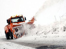 Bolu Dağı'nda yoğun kar yağışı var