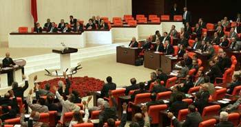 Sicil affı ve çek yasası Meclis'de