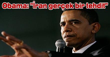 """Obama: """"İran gerçek bir tehdit"""""""