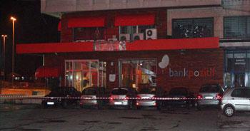 Levent'te bomba patlatıldı!