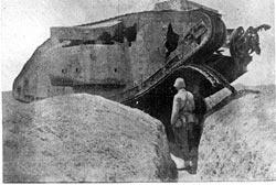 Gazze'deki ilk tankların hedefi Osmanlı ordusuydu