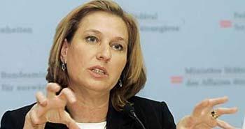 Livni ABD'ye gidiyor