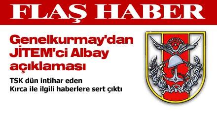 Genelkurmay'dan JİTEM'ci Albay açıklaması
