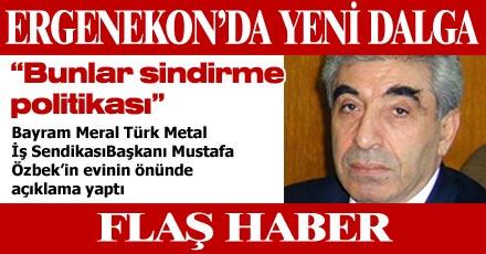 """""""SİNDİRME POLİTİKASI YÜRÜTÜYORLAR"""""""
