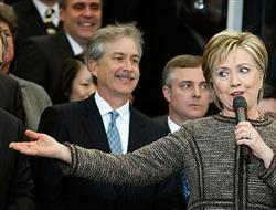 Hillary Clinton göreve başladı