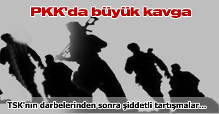 PKK'da büyük kavga