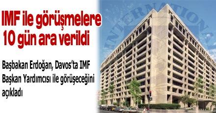 IMF ile görüşmeye 10 gün ara verildi