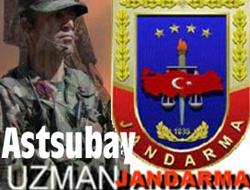 Jandarma, astsubay ve uzman alacak