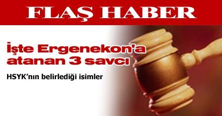 İşte Ergenekon'a atanan 3 savcı