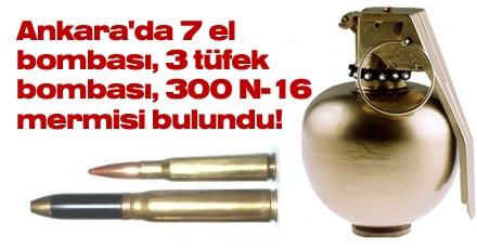 Ankara'da yeni mühimmatlar!
