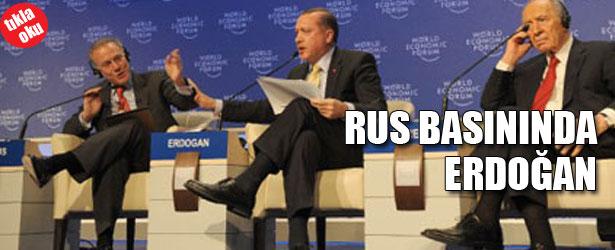 RUS BASININDA ERDOĞAN