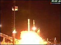 İran yapımı uydu uzayda