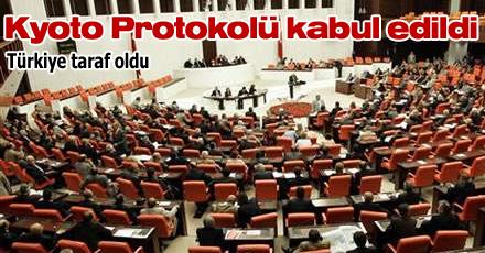 KYOTO PROTOKOLÜ KABUL EDİLDİ