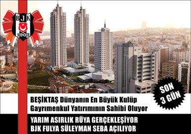 Beşiktaş'a dev kompleks!
