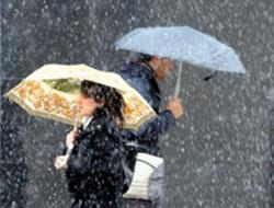 DİKKAT Kuvvetli yağış uyarısı