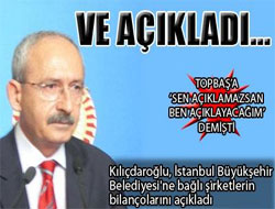 Kılıçdaroğlu açıkladı