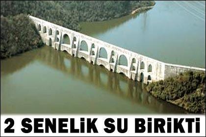 İstanbul'da barajlar doldu