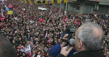Kılıçdaroğlu'na sevgi seli