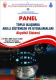 'Toplu Ulaşımda Akıllı Sistemler ve Uygulamaları' paneli...