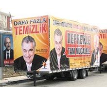 AKP'den CHP'ye 'TIR'lı engel