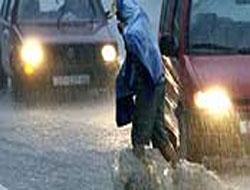 Dikkat Gece şiddetli yağmur var !