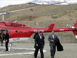 Helikopterde o cihaz yok!