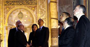 Obama Ayasofya ve Sultanahmet'e hayran kaldı