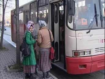 Tesettür otobüsü