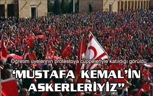 Anıtkabir'de Ergenekon protestosu