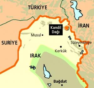 PKK kampları 3 saatte yok edildi