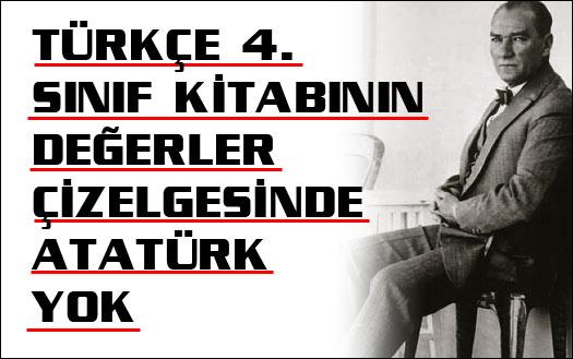 Hoca var, Atatürk yok!