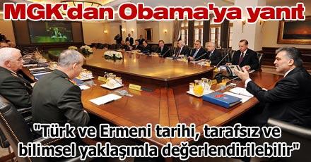 MGK'dan Obama'ya yanıt