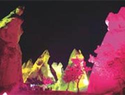 Peribacaları geceleri renkli