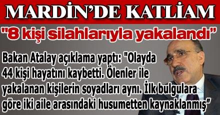 """""""8 KİŞİ SİLAHLARIYLA YAKALANDI"""""""
