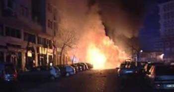 Şişli'de bomba paniği