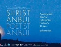 İstanbul Şiir Festivali başlıyor
