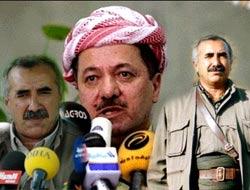 PKK ile Barzani birbirine girdi