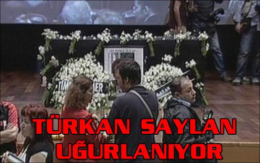 Türkan Saylan uğurlanıyor