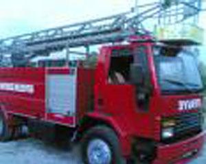 İplik Fabrikasında Çıkan Yangın Korkuttu