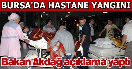 Bakan Akdağ açıklama yaptı