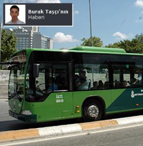 İETT otobüsünde 10 kuruşluk kavga