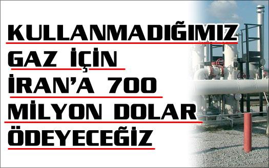 Türkiye'ye 700 milyon dolarlık kazık