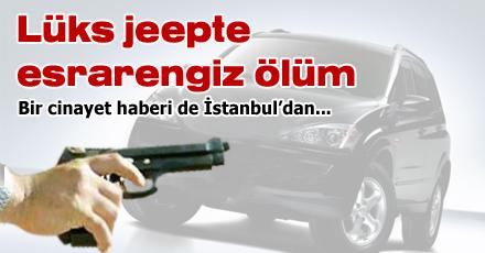 Bir cinayet haberi de İstanbul'dan